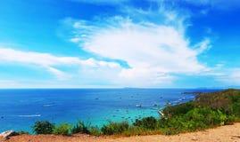Belle île Pattaya, Thaïlande Photos stock