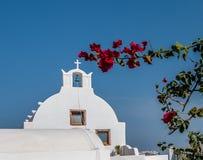 Belle île Santorini Photographie stock