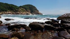 Belle île, shek o, Hong Kong Images stock