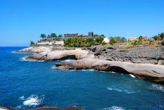 Belle île smal dans Ténérife Photographie stock libre de droits