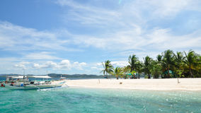 Belle île tropicale Images stock