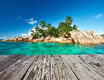 Belle île tropicale Photo stock