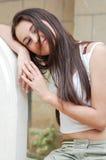Belle adolescente Photo stock