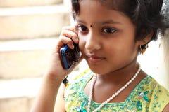 Belle adolescente indienne photographie stock libre de droits
