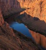 Belle aire de loisirs scénique de canyon de gorge chez l'Arizona, USA Photos libres de droits