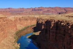 Belle aire de loisirs scénique de canyon de gorge chez l'Arizona, USA Images stock
