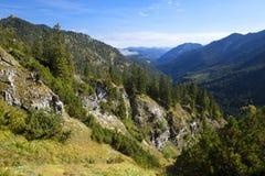 Belle alpi bavaresi selvagge Immagini Stock