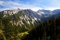 Belle alpi in Germania Fotografie Stock Libere da Diritti