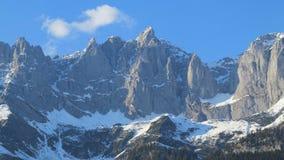 Belle alte montagne Fotografia Stock
