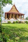 Belle architecture au temple de Phra Kaew de baie d'aubépine photo libre de droits