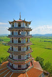 Belle architecture chinoise en Thaïlande images libres de droits