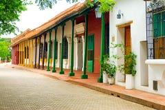 Belle architecture coloniale dans Mompox Photo libre de droits