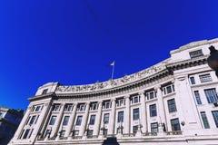 Belle architecture de bâtiments en Regent Street, ville c de Londres Photographie stock