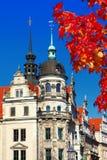 Belle architecture de Dresde Photographie stock libre de droits