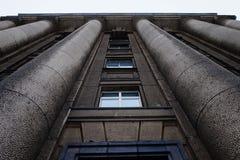 Belle architecture du vieux bâtiment images libres de droits
