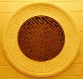 Belle architecture et statue de Chinois Photographie stock libre de droits