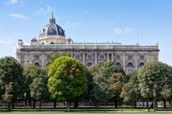 Belle arti del museo, Vienna, Austria Immagini Stock Libere da Diritti