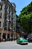 Belle automobili di Cuba, centro di Avana Fotografia Stock Libera da Diritti