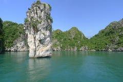 Belle baie de Halong Photographie stock