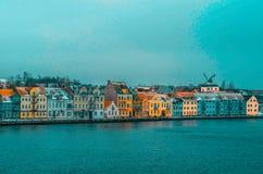 Belle baie pour des bateaux dans Sonderborg, Danemark image stock
