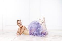 Belle ballerine de jeune femme Image libre de droits