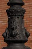 Belle base de lampadaire Image libre de droits