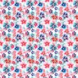 Belle belle mauve colorée magnifique artistique de fines herbes florale tendre sophistiquée mignonne avec le modèle coloré de feu Photographie stock libre de droits