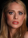 Belle blonde Photo stock