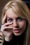 Belle blonde Photos stock