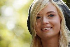 Belle blonde romantique photographie stock