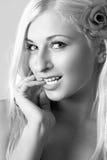 Belle blonde sexy Photo libre de droits