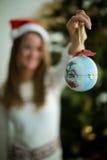 Belle boule de Noël photo libre de droits