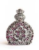 Belle bouteille de parfum Photo stock
