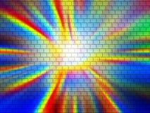 Belle brique abstraite illustration libre de droits