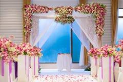 Belle cérémonie de mariage Image stock