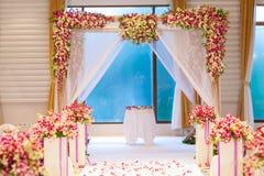 Belle cérémonie de mariage Images libres de droits