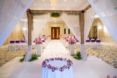 Belle cérémonie de mariage Photos stock