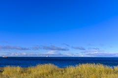 Belle côte près de Punta Arenas photo libre de droits