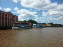 Belle côte à Porto Alegre Photo stock