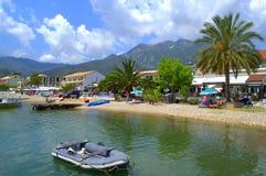Belle côte de Nydri, Leucade Grèce photos libres de droits