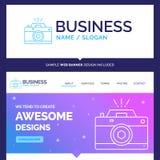 Belle caméra de marque de concept d'affaires, photographie, captu illustration de vecteur