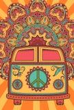 Belle carte illustration stock