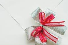 Belle carte de blanc d'invitation de mariage Image stock