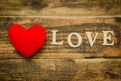 Belle carte pour le jour de ValentinePhoto stock