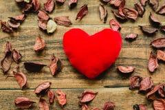 Belle carte pour le jour de ValentinePhotographie stock