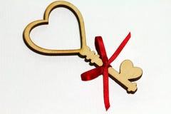 Belle carte pour le jour du ` s de Valentine Images libres de droits