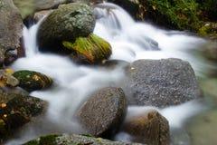 Belle cascade à écriture ligne par ligne Photo libre de droits