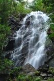 Belle cascade à l'île de Phaghan Photos stock