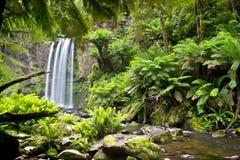 Belle cascade Image libre de droits