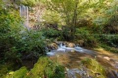 Belle cascade Photos stock